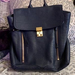 3.1 Phillip Lim Pashli Leather Backpack (INK)